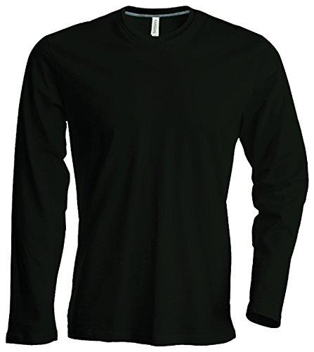 Herren T-Shirt langarm von notrash2003 (XL, Schwarz)