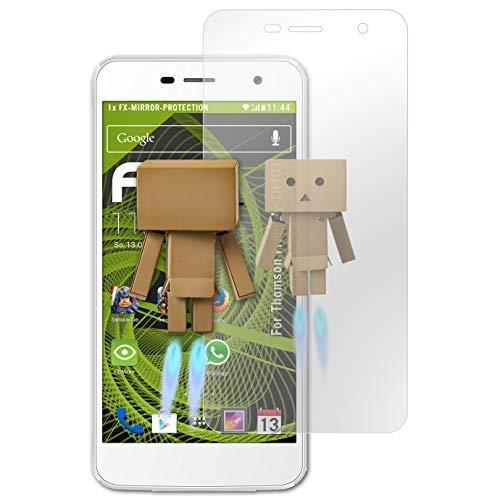 atFolix Bildschirmfolie für Thomson Friendly TH101 Spiegelfolie, Spiegeleffekt FX Schutzfolie