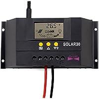 TTT-Mall - Regolatore di carica per pannello solare 30 A