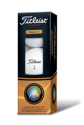Preisvergleich Produktbild Titleist Pro V1 Golfbälle - 3er Pack 3er Pack