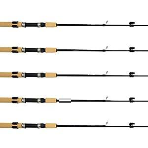Samsfx Horizontal Fishing Rod Rack Storage Clip Fishing