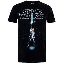 Star Wars Rey Logo, Camiseta para Hombre