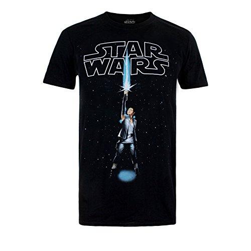 Star-Wars-Rey-Logo-Camiseta-para-Hombre