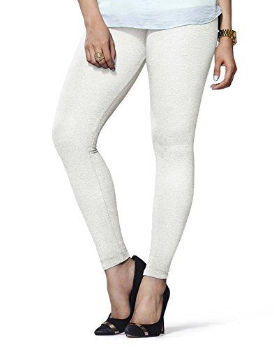 Lux Lyra Women\'s Ankle Length Leggings -Off White