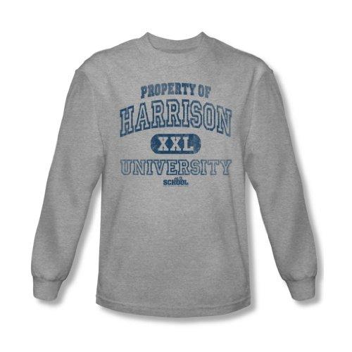 Old School - - Propriété des hommes de Harrison shirt manches longues En Heather