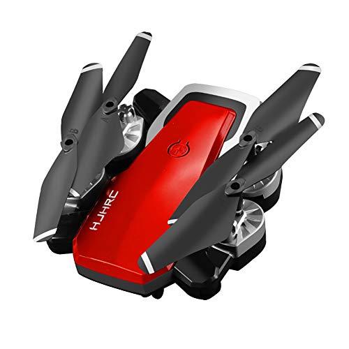 CHEERALL Drohne mit Kamera für Erwachsene Lange Flugdauer, 1800mAh Faltender Hd FPV RC Quadcopter für Anfänger mit Live-Video-Höhenlage Halten Sie eine Taste gedrückt,Red