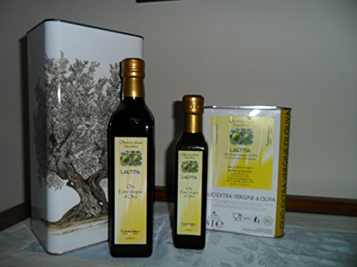 Olio extra vergine di oliva monocultivar nocellara del belice - 1 latta da 5 l