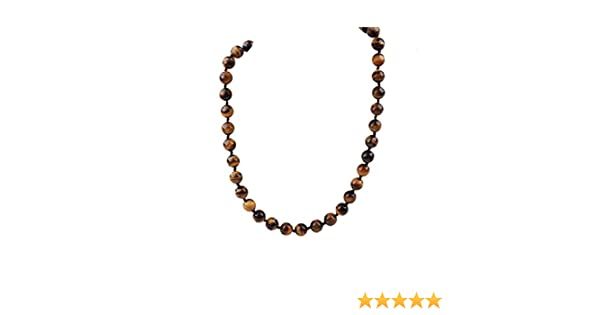 18 Inch 925 Sterling Silver Beaded Pearl clasp Hand knotted clasp 10-10.5mm Faceted Black Agate Necklace