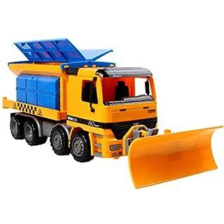 ACMEDE Schneepflug Winterdienst mit Räumschild Kinderspielzeug