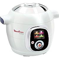 Moulinex CE704110 Cookeo - Robot de Cocina, alta Presión, 6 Modos Cocción, Programable, 100 Recetas Programadas y Bol Extraíble Antiadherente con Capacidad hasta 6 Raciones y Fácil Interfaz