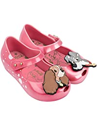 8e6d1211f108 Mini Melissa Girls Lady   The Tramp Shoes – Pink
