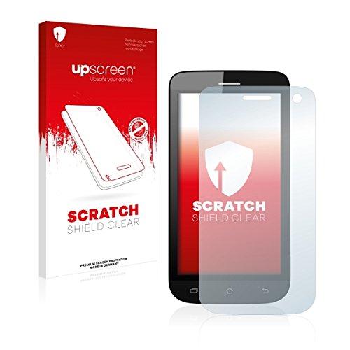 upscreen Scratch Shield Clear Bildschirmschutz Schutzfolie für Archos 40 Helium (hochtransparent, hoher Kratzschutz)