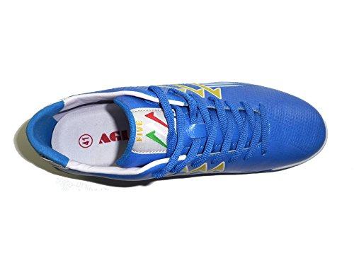 AGLA , Herren Futsalschuhe schwarz BLACK SILVER EUR 41 Blau