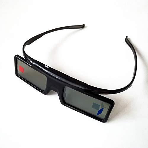 ZUZEN Active Shutter Bluetooth RF 3D-Brille 480 Hz für Samsung 3D TV EPSON Projektor TW6600 / 5350 / 5030UB / 5040UB & Sony W800B-Serie