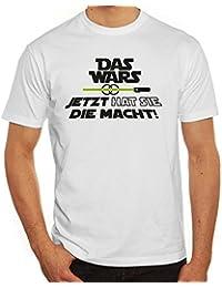 Junggesellenabschieds Herren T-Shirt mit JGA 45 Das Wars - Jetzt hat sie die Macht Motiv Premium