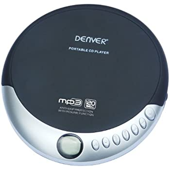 Denver DMP-389 Lecteur CD Portable