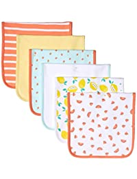 Amazon Essentials 6-Pack Burp Cloth Infant and Toddler Costumes, One size