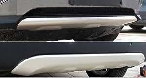 Hyundai ix35 Unterfahrschutz AUS ALLUMINIUM für BJ: 2010 - 09/2013 (Vorfacelift Modell) Vorne Hinten + Befestigungsmittel