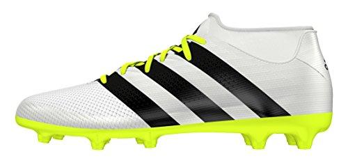 adidas Ace 16.3 Primemesh, Scarpe da Calcio Donna Bianco (Ftwr White/core Black/solar Yellow)