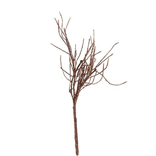 Baumzweig - Kunststoff, Textil, Eisen - braun - 45 cm - Wintergreen - BUTLERS