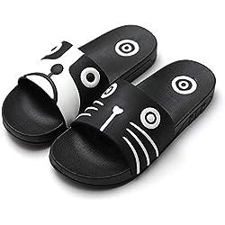 Sandalias para hombre Sandalias de ducha antideslizantes para mujeres Zapatillas de diapositivas de interior al aire libre Sandalias de cachorros de animales, 35-36, Gatos para perros Zapatos y sand