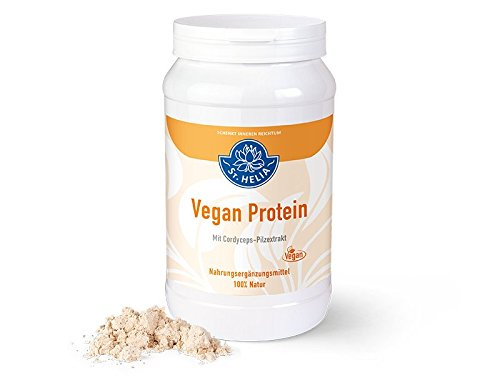 Vegan Protein - pflanzliches Eiweiß-Shake, vegan, Nahrungsergänzung, 100 {37f88b9ea93cbf7c165b83d6ee005ddcfea69b763a48661bb9790f6a63a23ea3} Natur, Dose à 560 g