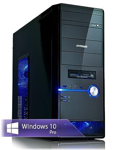 Ankermann-PC Gaming Pc, Intel Core i7 7700K 4x4,20GHz, ASUS Dual GeForce GTX 1060 6GB, 16GB RAM, 2TB HDD, Microsoft Windows 10 Professional, Card Reader, EAN 4260219658379