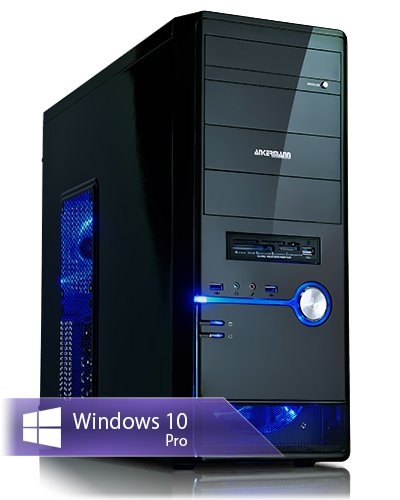 Ankermann-PC Gaming Pc / Multimedia, AMD FX 6300 6x3,5GHz Turbo:4,10GHz, MSI GeForce GTX 1060 6GB, 8GB RAM, 1TB HDD, Microsoft Windows 10 Professional, Card Reader, EAN 4260409314696