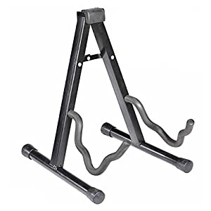 SAGUARO® A-Frame Adjustable Folding Cello Stand for 1/8-4/4 Cellos Black
