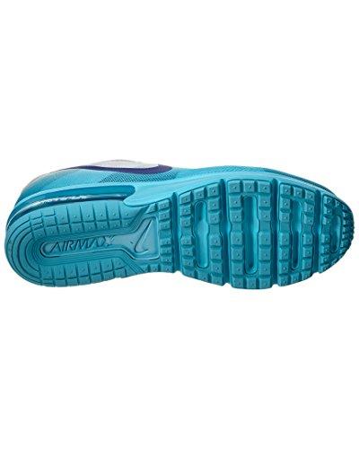 Nike Damen Wmns Air Max Sequent Laufschuhe Plateado (Pr Pltnm / Cncrd-Gmm Bl-Cl Gry)