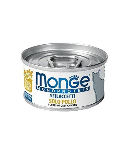 Monge Cat Sfilaccetti Monoprotein Pollo Lattina 80 gr