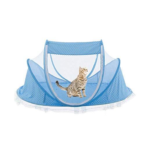 WUYANSE Katzenhaus Katzenzelt Hundehütte Kühlmattenzuchthaus Für Outdoor Indoor