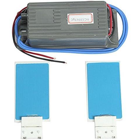 Bargain World CA 220V 7gc generatore di ozono dell'ozono ceramicchips fai da te per il filtro aria acqua impianto