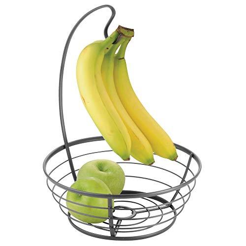 MDesign Cesta frutas moderna gancho colgar plátanos