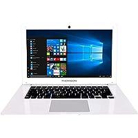 """Thomson NEO14A-2WH32 Ordinateur Portable 14,1"""" Blanc - Windows 10 Home - Processeur Intel Atom - 2 Go de RAM - 32 Go de Stockage - Écran HD"""