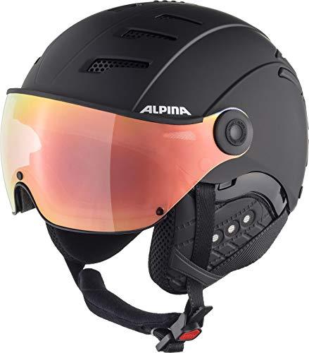 Alpina Unisex- Erwachsene JUMP 2.0 HM Ski- und Snowboardhelm, black matt, 55-58 cm