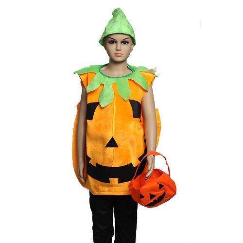 Kinder Kürbis Kostüm Halloween Party Kürbis Outfit für -