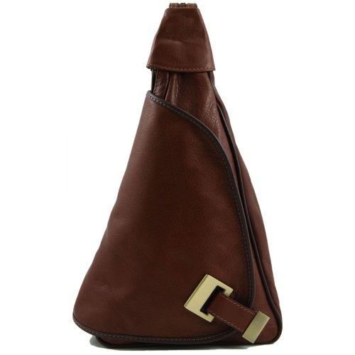 Tuscany Leather - Sac à dos cuir - Marron