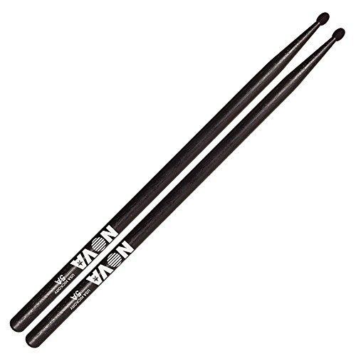 vic-firth-drumsticks-nova-5a-black-drumsticks-hickory-1-pair