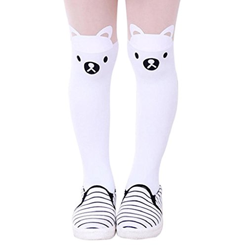 Girls Tights, SHOBDW Kids Baby Cute Pantyhose Cartoon Piece Kawaii Socks Siamese Leggings Toddler Party Carnival Cosplay Tights Gifts