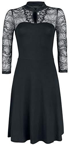 Vive Maria Night in Tokio Dress Mittellanges Kleid schwarz L