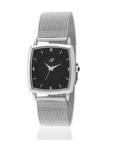 Yepme Prob Unisex Watch - Black/Silver-YPMWATCH2708 image