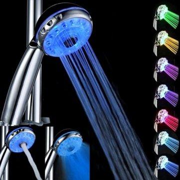 7 Color Magic Kuv Kyz automático agua luces LED de la cabeza...