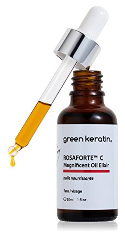 Green Keratin ROSAFORTE C Magnifique Huile Elixir/églantier et de vitamine C Ester...