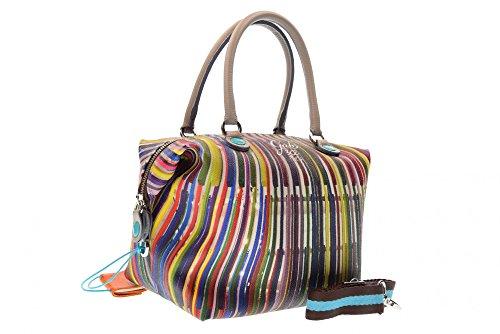 GABS donna borse a mano G3 STUDIO PRINT G000030T2 X0086 S0302 BACCHETTE multicolour_multicolour, mehrfarbig