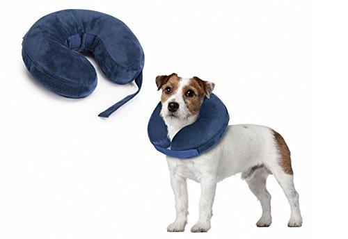 Collare gonfiabile di protezione per cani marca Camon misura cm. 33 - 45