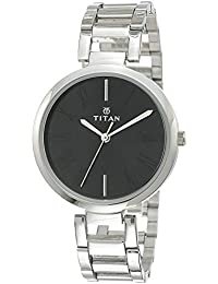Titan Youth Analog Black Dial Women's Watch -NK2480SM02
