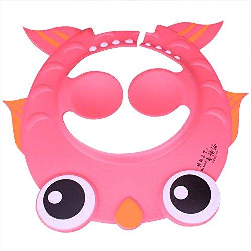 gzq 2Baby Dusche Gap Safe Shampoo Baden weicher Verstellbarer Mütze mit Ohr Schutz Pads für Kleinkinder Kids Kinder