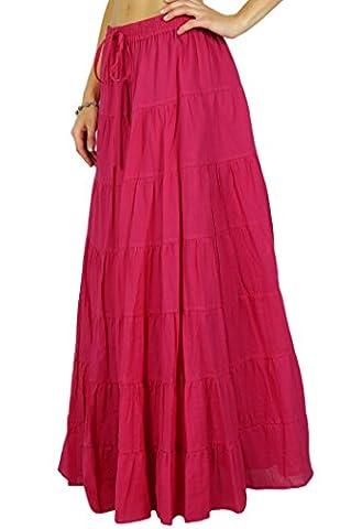 Phagun Resort Wear Skirt Long Maxi Skirt Beach Wear Cotton