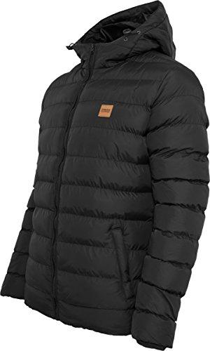 Urban Classics Herren Jacke Basic Bubble Jacket blkblkblk
